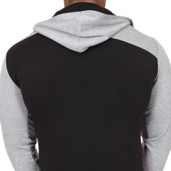 Sweat-Shirt Hoodie Elite Gris - Rouge - Noir Pistol Pete