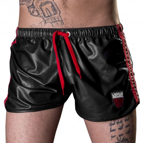 Short Byron Noir - Rouge