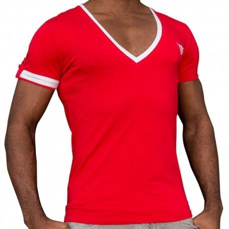 T-Shirt Captain Rouge