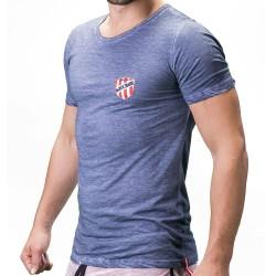 T-Shirt Alvin Indigo Barcode