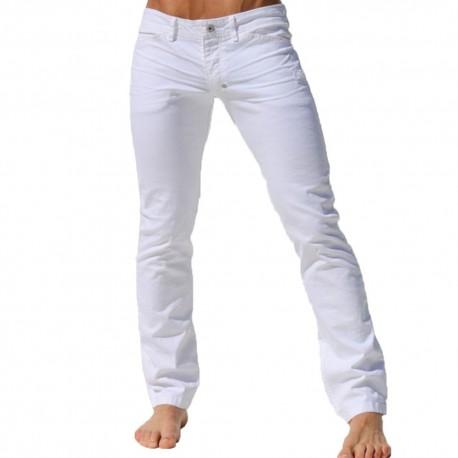 Pantalon Jeans Viper Blanc