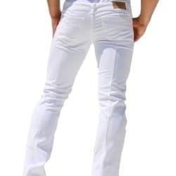 Pantalon Jeans Viper Blanc Rufskin