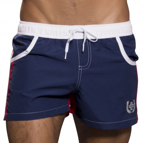 Short de Bain Navigator Almost Naked Marine - Rouge