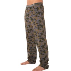 Pantalon Camouflage Stretch Cotton Olive Emporio Armani