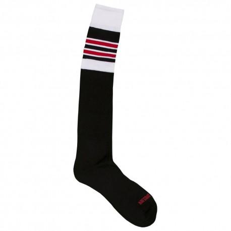 Football Socks - Black - White