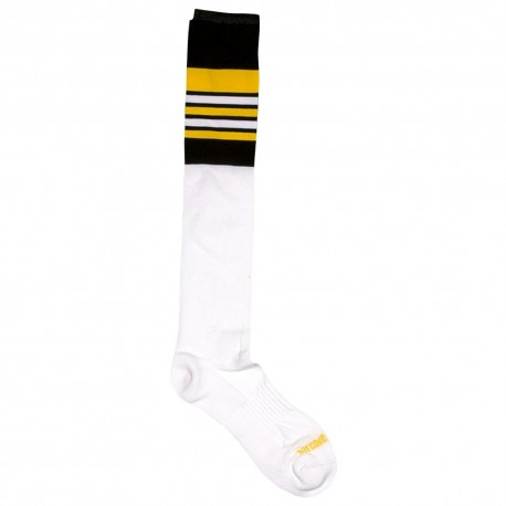 Football Socks - White - Black
