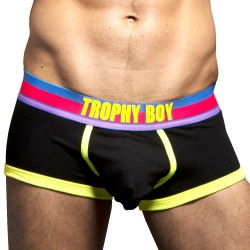 Boxer Bottomless Hero Trophy Boy Noir Andrew Christian