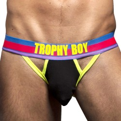 Jock Strap Hero Trophy Boy Noir Andrew Christian