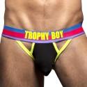Jock Strap Hero Trophy Boy Noir