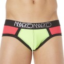 Blacklight Brief - Green - Fuchsia