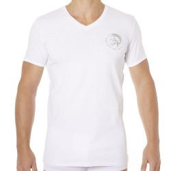 T-Shirt Only The Brave Blanc Diesel