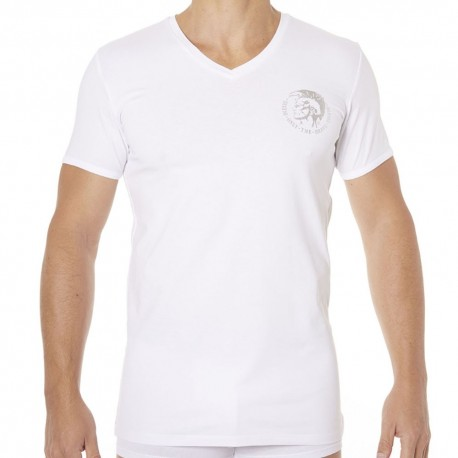 T-Shirt Only The Brave Blanc