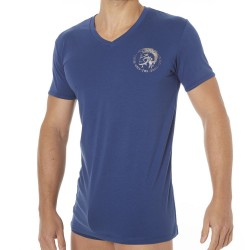 T-Shirt Only The Brave Bleu Diesel