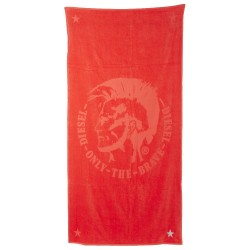 Serviette Only The Brave Rouge Diesel