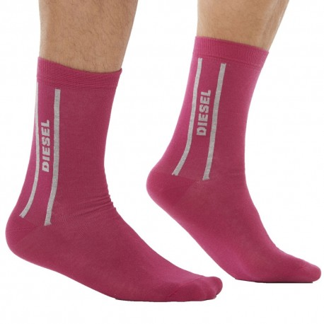 Only The Brave Socks - Pink