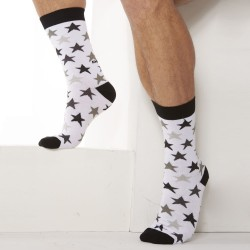 Chaussettes Stars Blanches Diesel