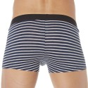 3-Pack Cotton Boxers - Stripes - Grey - Navy