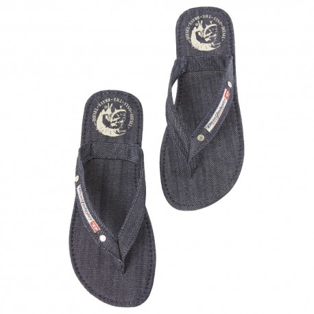 Only The Brave Flip Flops - Denim