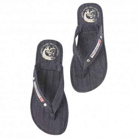 Only The Brave Flip Flops - Denim