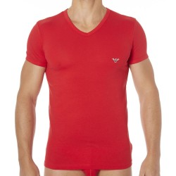 T-Shirt Fancy Back to the 90\'s Rouge Emporio Armani