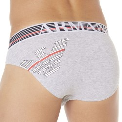 Slip Fancy Back to the 90\'s Gris Emporio Armani