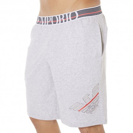 Fancy Back to the 90's Bermuda Shorts - Grey