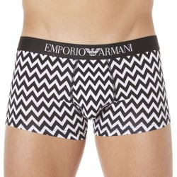 Boxer Fancy Black & White Mix Chevrons Emporio Armani