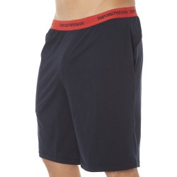 Bermuda Colored Basic Cotton Stretch Marine Emporio Armani