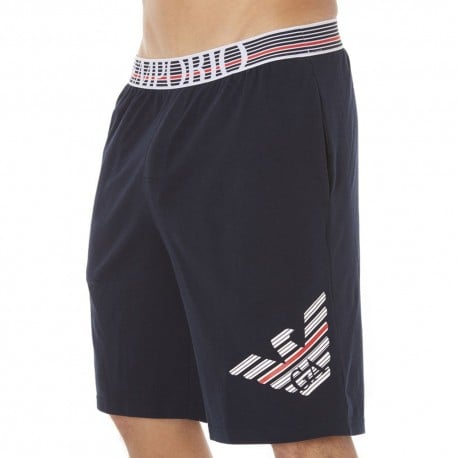 Fancy Back to the 90's Bermuda Shorts - Navy