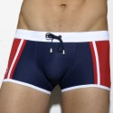 Josema Swim Boxer - Navy - Red