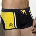 Josema Swim Boxer - Black - Yellow