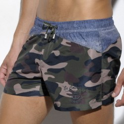 Short de Bain Rachid Anchor Camouflage ES Collection