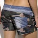 Rachid Anchor Swim Short - Camouflage