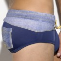 David Anchor Swim Brief - Navy
