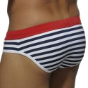 Europe Mini Swim Brief - Sailor - Red