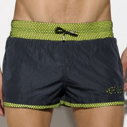 Short de Bain Rafal Neon Noir ES Collection