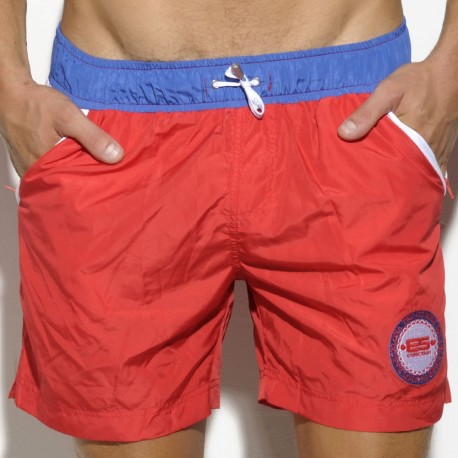 Israel Swim Short - Red