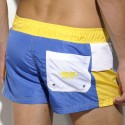 Short de Bain Maksym Royal - Jaune