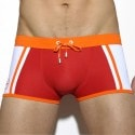 Josema Swim Boxer - Red - Orange