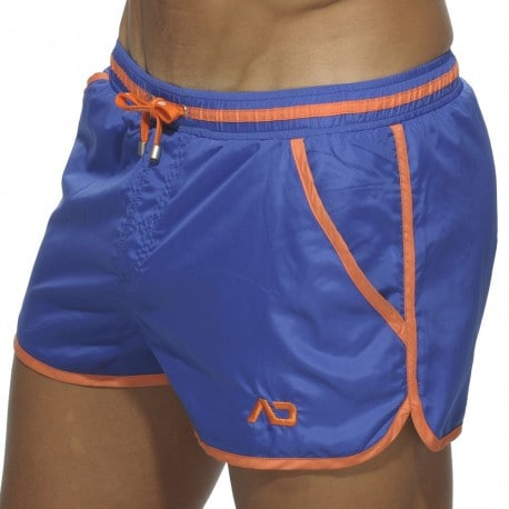 Basic Piping Swim Short - Royal