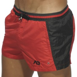 Short de Bain Bicolor Rouge Addicted
