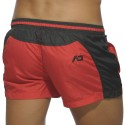 Bicolor Swim Short - Red