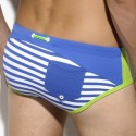 Lucas Sailor Swim Brief - Royal - Green