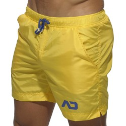 Short de Bain Long Basic Jaune Addicted