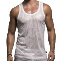 Shine Tank Top - White
