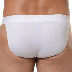 Slip Tanga Sport'n Colors Blanc HOM