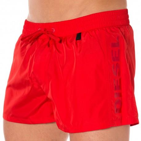 Fresh & Bright Swim Short - Red