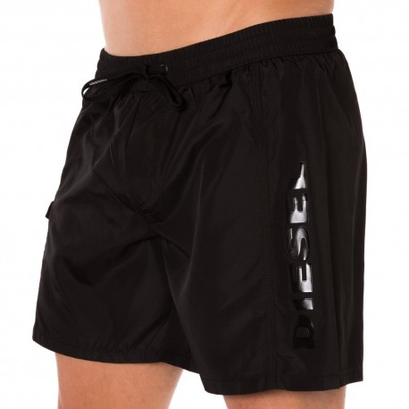 Fresh & Bright Medium Swim Short - Black