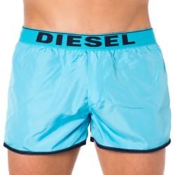 Short de Bain Réversible Turquoise - Marine Diesel
