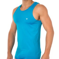 Débardeur Colored Basic Microfiber Turquoise Emporio Armani